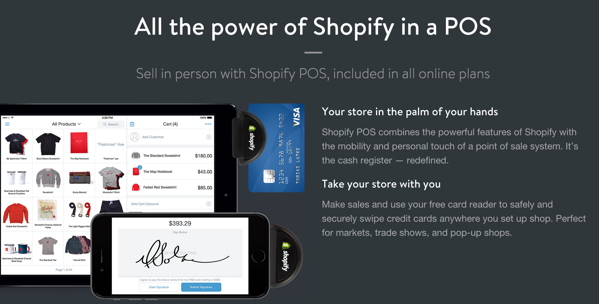add an online store to your website