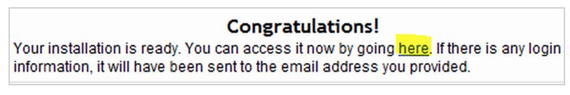 how to start a blog - congratulations