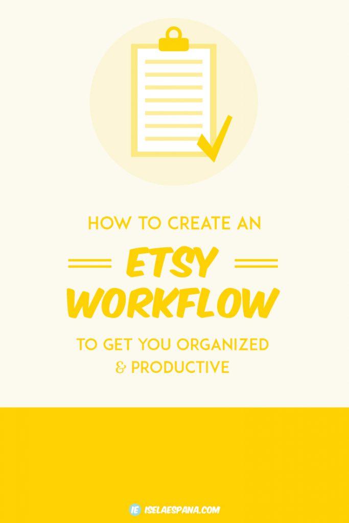 Etsy Workflow
