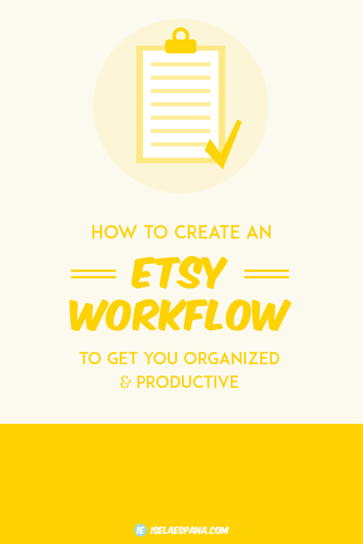 Etsy Workflow
