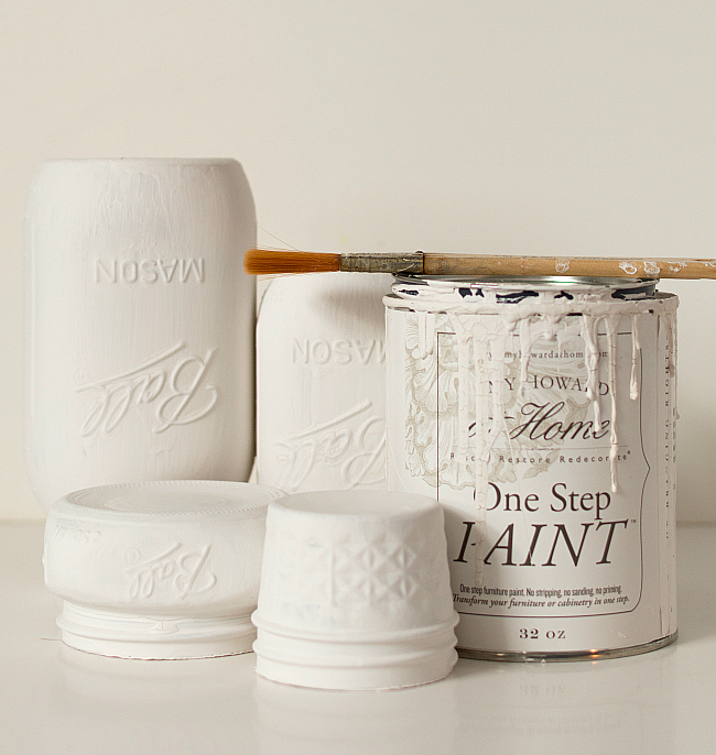 mason-jar-crafts-painted-distressed-bathroom-organizer-soap-dispenser-toothbrush-holder-5-of-11