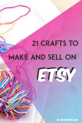 What to sell on Etsy – 21 Crafts to make and sell from home